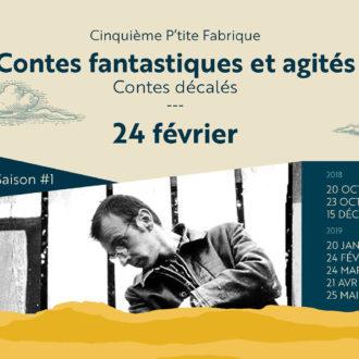 «Contes fantastiques et agités» de Sylvain Cebron de Lisle