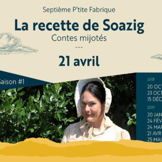 «La Recette de Soazig», par Céline Sorin