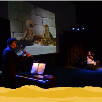 «Ciné-Concert inuit  pour petites chouettes» de la Cie Marmouzic